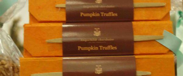 Pumpkin Truffles, Dean & Deluca, New York