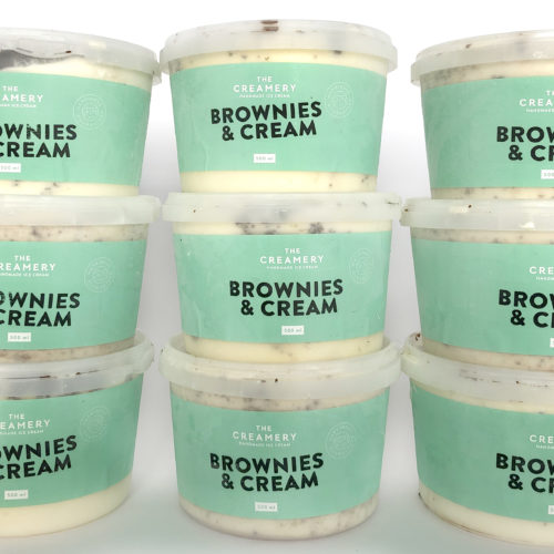 Brownies & Cream – 1 x 500ml Tub