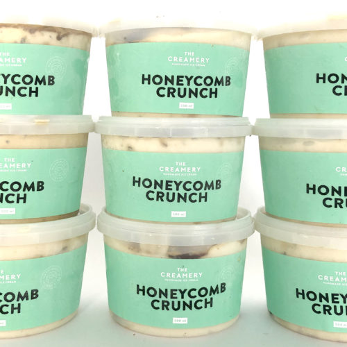Honeycomb Crunch – 1 x 500ml Tub