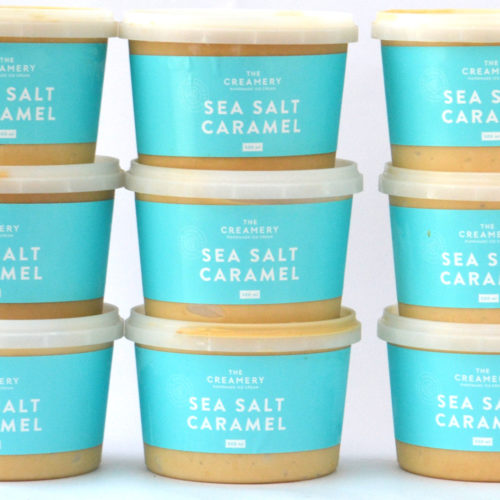 Sea Salt Caramel – 1 x 500ml Tub