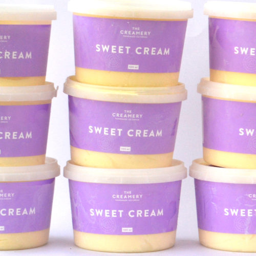Sweet Cream – 1 x 500ml Tub